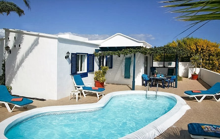 Lanzarote 2 Bedroom Villa Rentals